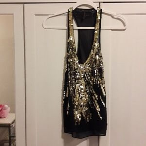 3/for $12 BCBG Maxazria blouse